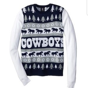 Dallas Cowboys Ugly Christmas Sweater, Men's Large